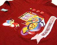 8Bit-Bytes, Shirt Design