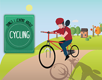 Infographic: Things I learnt about Cycling