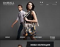 OnMall website design