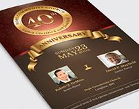 Church Anniversary Program Large Template