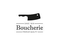 Restaurant Identity - Boucherie