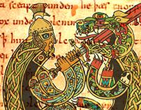 Beowulf Book Illustartion
