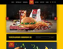 mcdonalds.az concept web pages