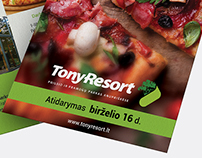 TonyResort Flyer A5