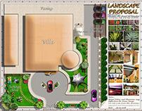 Landscaping Garden Concept