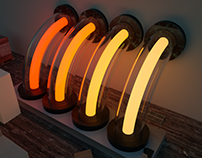 Glow tubes