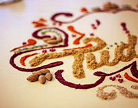 Food Typography