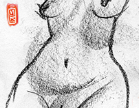 life drawing XIV (patricia)