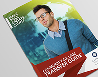 National University // Transfer Guide Brochure