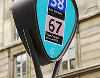 RATP Potelet de Bus _ Bus Stop
