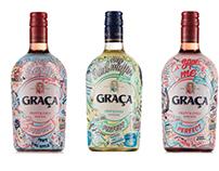 "GRAÇA ""Pick up line"" Campaign Wine Packaging"