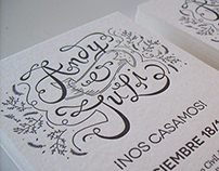 Andy&Juli / Wedding invitations