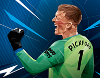 Jordan Pickford for Everton FC
