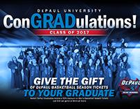 DePaul U Graduation Postcard