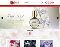 Perfume website