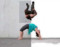 Parkour Yoga Clinic Poster
