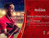 MCDONALDS FIFA WORLD CUP FANTASY