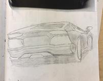 Lamborghini sketch