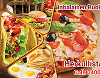 Tasty Food Billboard Banner