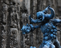 Golem Warriors Art toy