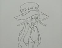 Sketchbook - Mage character 2