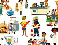 Jobs Sticker Book