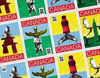 Timbres - Postes Canada