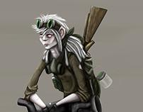 Stella Rat Character Design