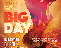 Big Day Party Flyer