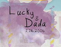 Lucky and Dada Prenup Album