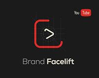 YouTube logo facelift