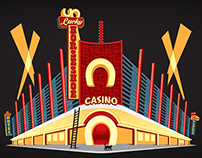 The (un)Lucky Horseshoe Casino Illustration