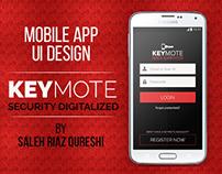 Keymote | Mobile App UI Design