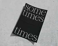 Sometimes Times Typeface