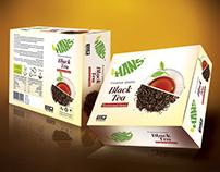 Hans Tea Branding
