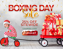 Pixelo's Boxing Day Sale 2018 | 25% Off, Coupon HOHOART