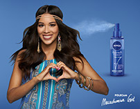 MACADEMIAN GIRL for NIVEA