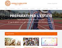 Vigna Clara Gym | Payoff + Sito Web
