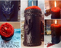 Game of Thrones: Targaryen Candle