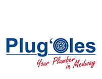 "Logo design for a local plumbing business ""Plug'Oles"""