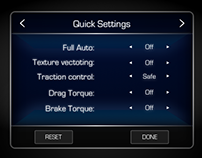 007 | Quick Car settings for hardware navigation