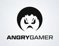 AngryGamer - logo