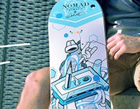Nomad Skateboards X Debete