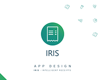 IRIS Intelligent Receipts | App Design