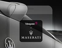 Carte Rose à Maserati