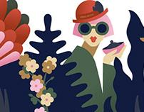 Illustration campaign for fashion brand Urban Revivo