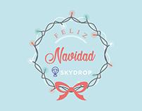 Postal Navideña - Skydrop