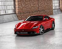 Ferrari Roma - Full CGI