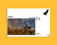 Postcard Layout