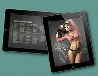 Fitness Editorial Design